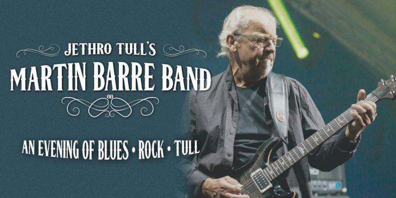JETHRO TULLS - Martin BARRE BAND- koncert v Ostravě -Rock and Roll Garage Ostrava Martinov